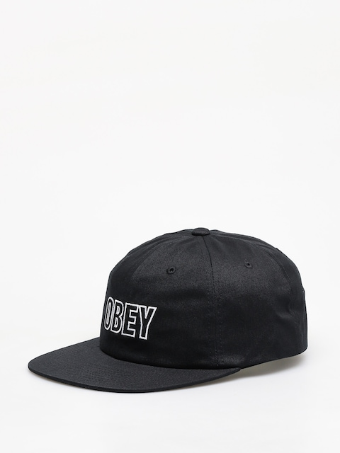 Kšiltovka  OBEY Speechless 6 Panel Snapback ZD