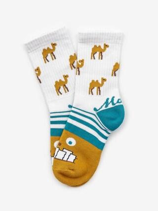 Ponožky Malita Camel (white)