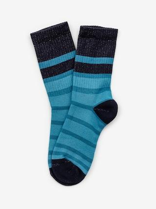 Ponožky Malita Stripes (green/turquise)
