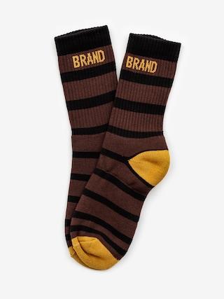 Ponožky Malita Bang (brown)