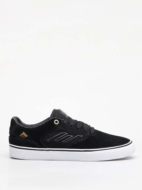 Boty Emerica The Reynolds Low Vulc (black/gold/white)