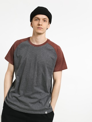 Tričko Element Basic Raglan (oxblood heather)