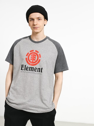 Tričko Element Vertical Raglan (grey heather)