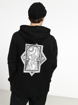 Mikina s kapucí RVCA Tigre HD (black)