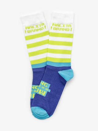 Ponožky Malita Wow Lt (blue)