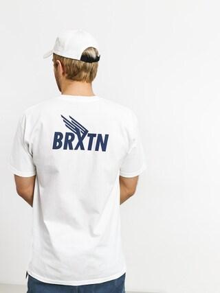 Tričko Brixton Rogers III Stt (white)