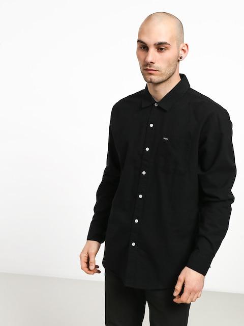 Košile Brixton Charter Oxford Wvn (black)