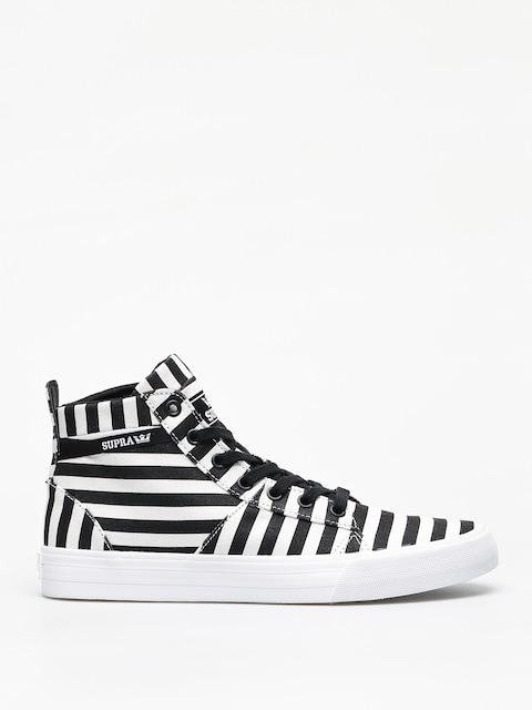 Boty Supra Stacks Mid (black/white stripe)