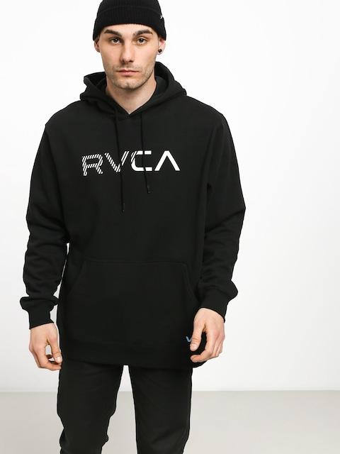 Mikina s kapucí RVCA Scratched Rvca HD (rvca black)