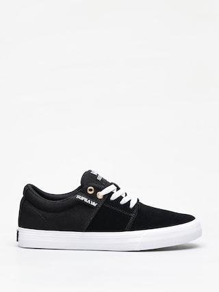 Boty Supra Stacks Vulc II (black/black white)