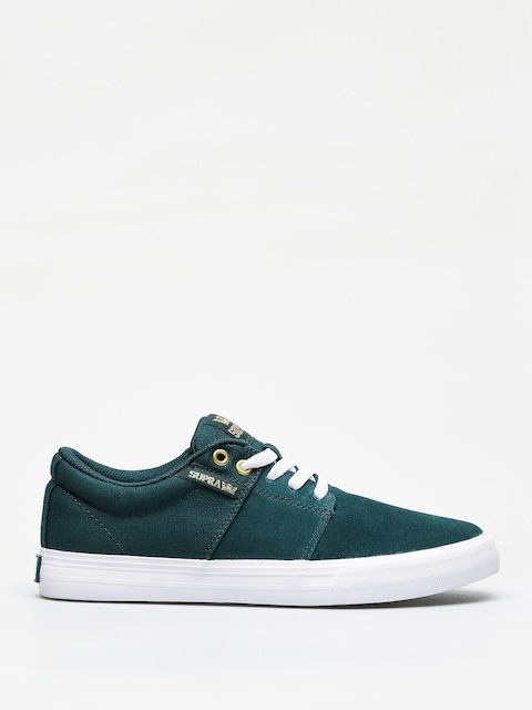 Boty Supra Stacks Vulc II (evergreen white)