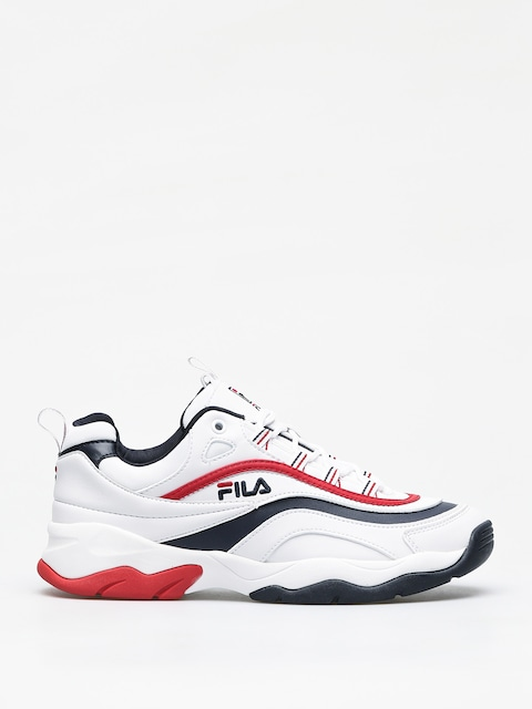 Boty Fila Ray F Low (white/fila navy/fila red)