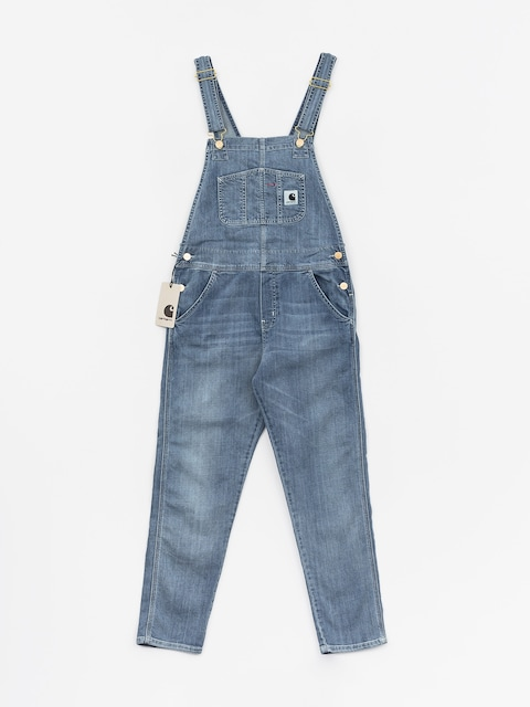 Kalhoty Carhartt WIP Overall Wmn (blue)