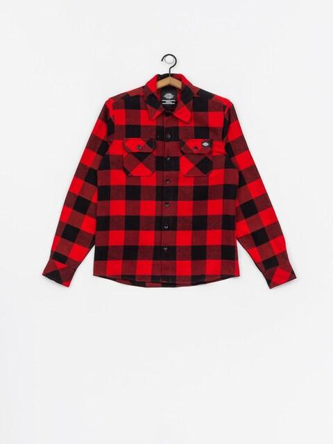 Košile Dickies Sacramento Wmn (red)