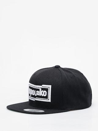 Kšiltovka  El Polako Cut ZD (black)