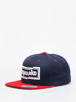 Kšiltovka  El Polako Cut ZD (navy/red)