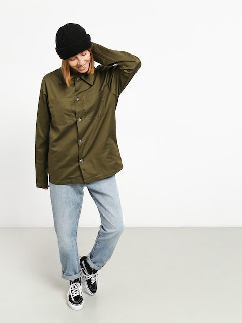 Košile The Hive Military Overshirt Wmn (military)