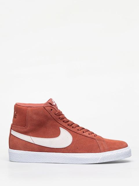 Boty Nike SB Zoom Blazer Mid (dusty peach/white)