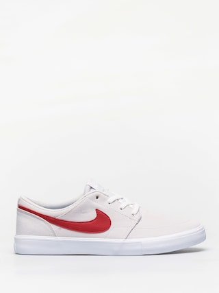 Boty Nike SB Sb Solarsoft Portmore II Canvas (vast grey/university red white black)