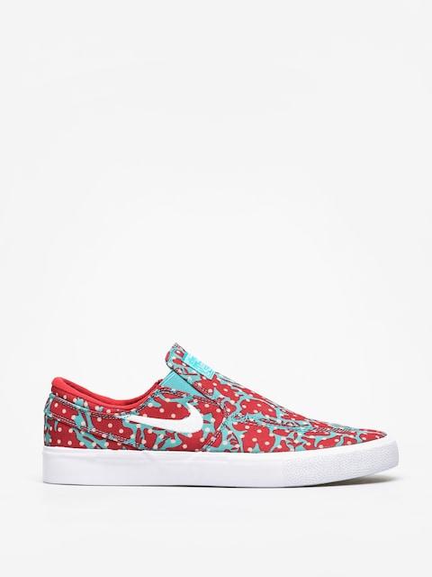 Boty Nike SB Zoom Janoski Slip Rm Cnvs (cabana/white desert ore university red)