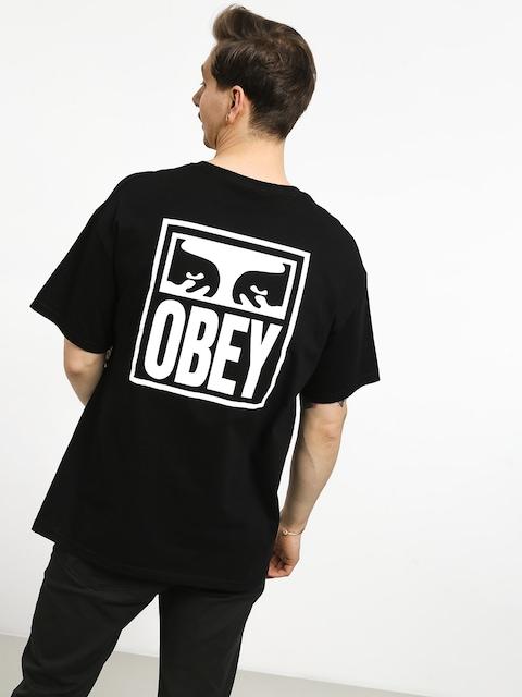 Tričko OBEY Obey Eyes Icon (black)