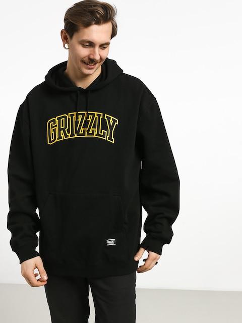 Mikina s kapucí Grizzly Griptape University HD (black)