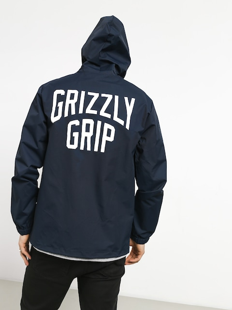 Bunda Grizzly Griptape All City Hooded (navy)