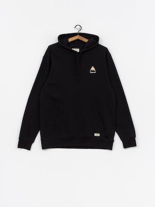 Mikina s kapucí Burton Mtn HD (true black)