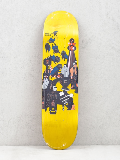 Deska Polar Skate Paul Grund Fortissimo (yellow)