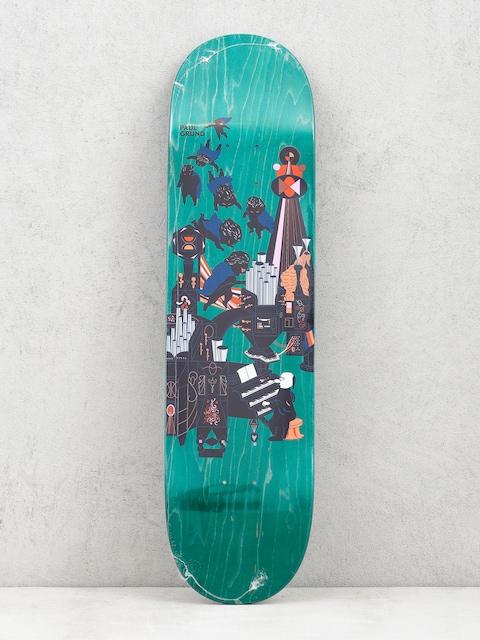 Deska Polar Skate Paul Grund Fortissimo (green)