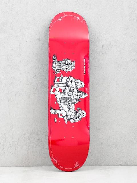 Deska Polar Skate Hjalte Halberg Picknick (red)