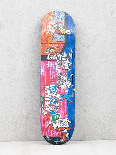 Deska Polar Skate Klez Skid Row (navy)