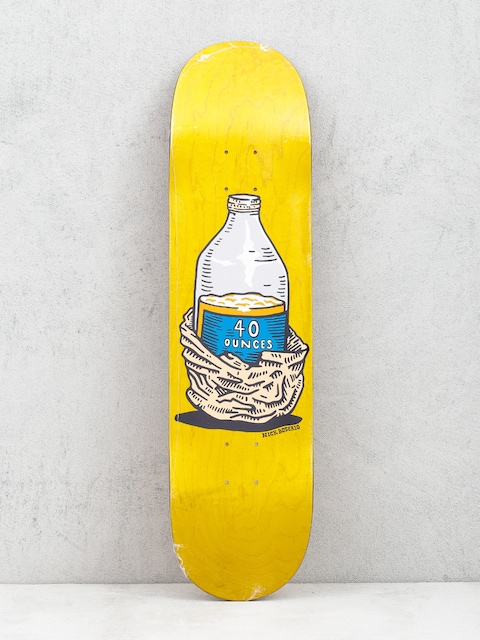 Deska Polar Skate Nick Boserio Forties (yellow)