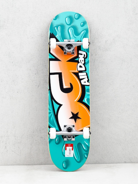 Skateboard DGK Splash (mint/orange)