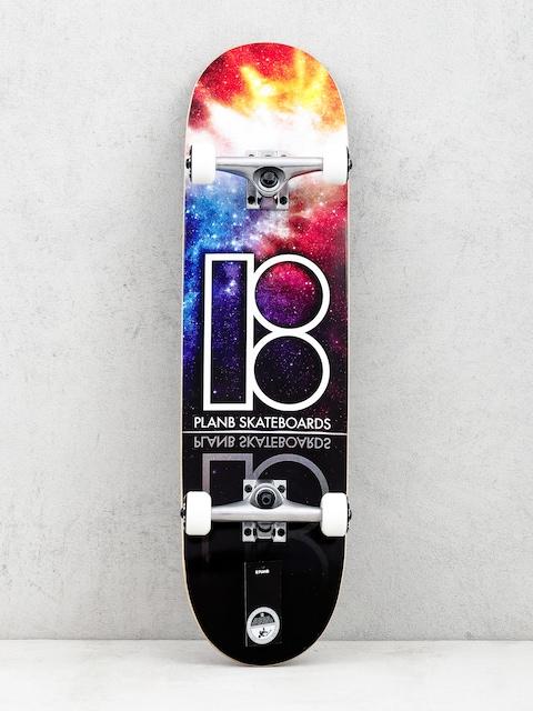 Skateboard Plan B Nebula (multi)