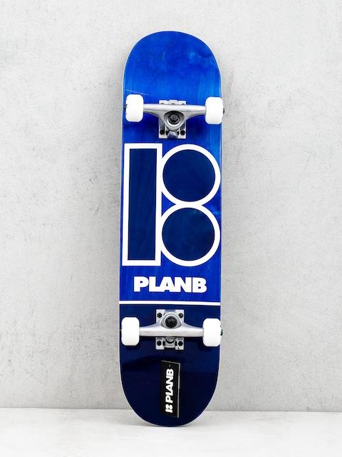 Skateboard Plan B Blue Stain (navy)