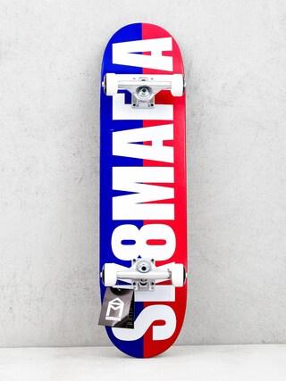 Skateboard Sk8Mafia Og Logo (split white)