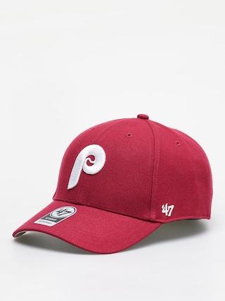 Kšiltovka  47 Brand Philadelphia Phillies 47 Mvp ZD (cardinal)