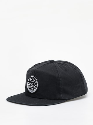 Kšiltovka  Rip Curl Washed Wetty Snap Back ZD (washed black)