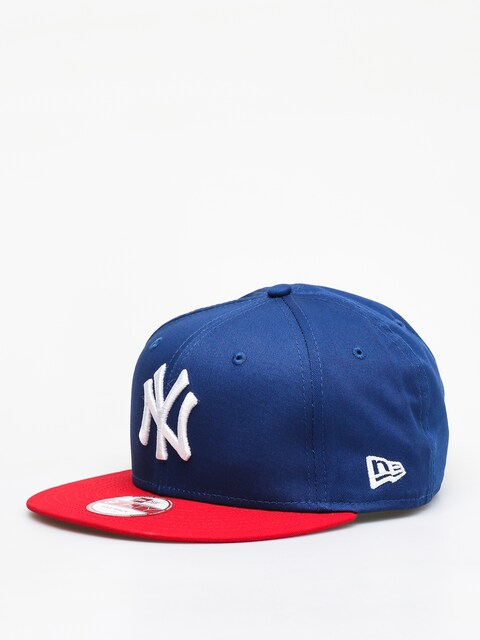 Kšiltovka  New Era Mlb Cotton Bl New York Yankees ZD (royal/red)