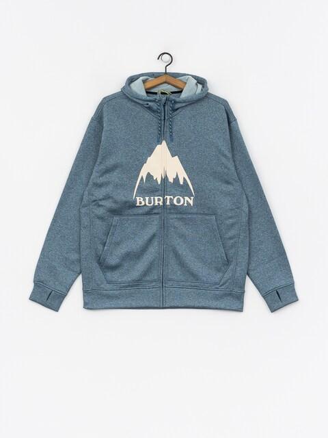 Mikina s kapucí Burton Oak ZHD (blue sapphire hthr)