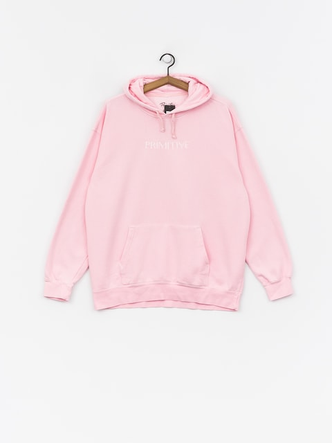 Mikina s kapucí Primitive Atmosphere HD (pink)
