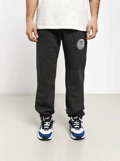 Kalhoty MassDnm Base Regular Fit (dark heather grey)