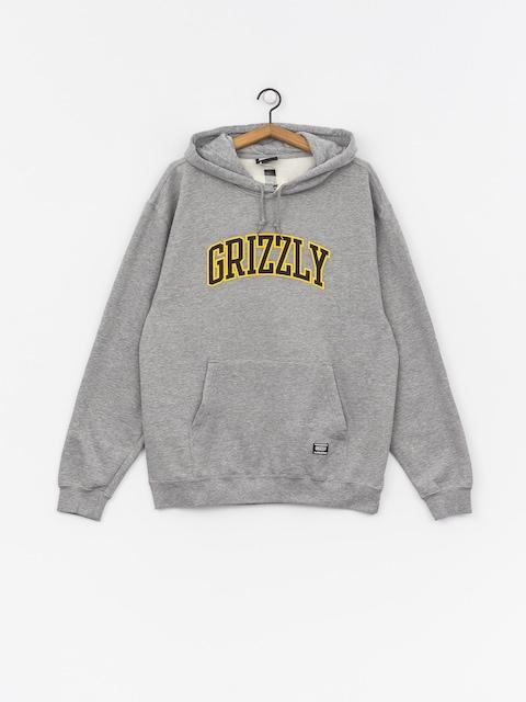 Mikina s kapucí Grizzly Griptape University HD (grey heather)
