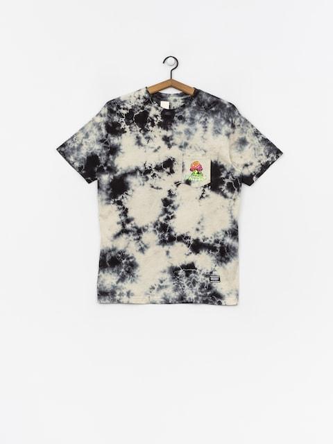 Tričko Grizzly Griptape Black Light Bear Pocket (white)