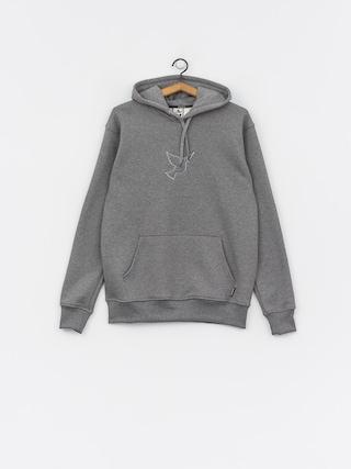 Mikina s kapucí Nervous Icon HD (grey)