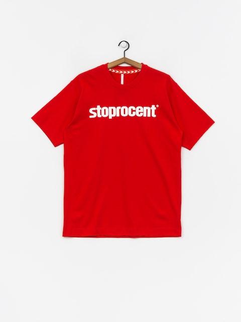 Tričko Stoprocent Simple 19 (red)