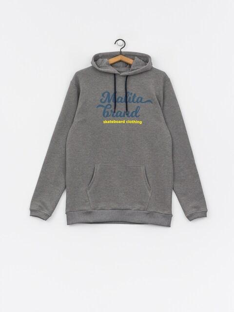 Mikina s kapucí Malita Sktb Brand HD (grey)