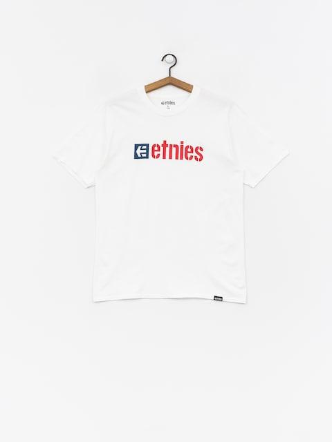 Tričko Etnies Box (white)