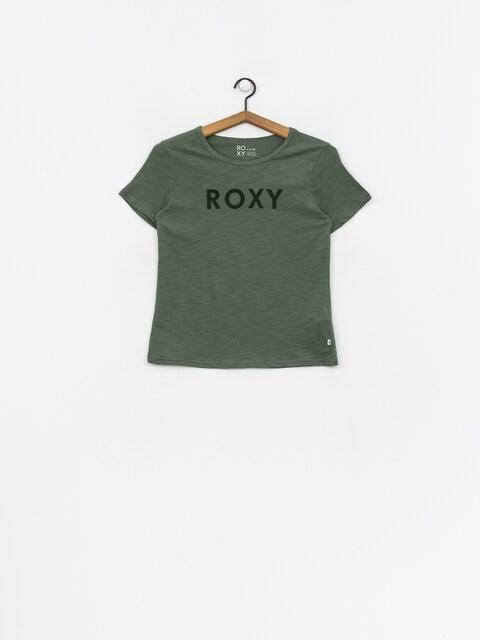 Tričko Roxy Red Sunset A Wmn (duck green)